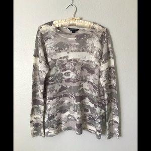 Soft Camo Sweater